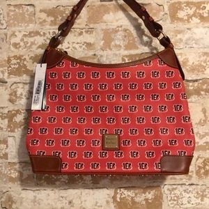 NWT Dooney & Bourke Cincinnati Bengals Handbag Org